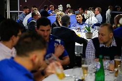 Gavin Henson of Bristol Rugby looks on during the Player Sponsors' Dinner in the Heineken Lounge at Ashton Gate - Mandatory byline: Rogan Thomson/JMP - 08/02/2016 - RUGBY UNION - Ashton Gate Stadium - Bristol, England - Bristol Rugby Player Sponsors' Dinner.