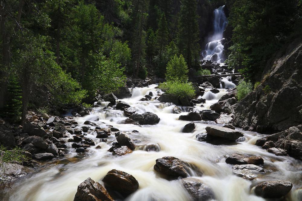 Fish Creek Falls Steamboat Springs, Colorado
