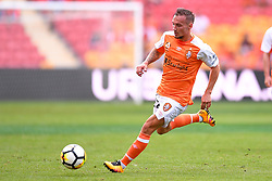 October 22, 2017 - Brisbane, QUEENSLAND, AUSTRALIA - Eric Bautheac of the Roar (#22) in action during the round three Hyundai A-League match between the Brisbane Roar and the Newcastle Jets at Suncorp Stadium on October 22, 2017 in Brisbane, Australia. (Credit Image: © Albert Perez via ZUMA Wire)