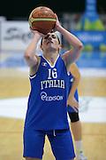 Pomezia, 17/05/2015<br /> Basket, Nazionale italiana Femminile <br /> Amichevole <br /> Italia - Gran Bretagna<br /> Nella foto: Chiara Pastore<br /> Foto Ciamillo