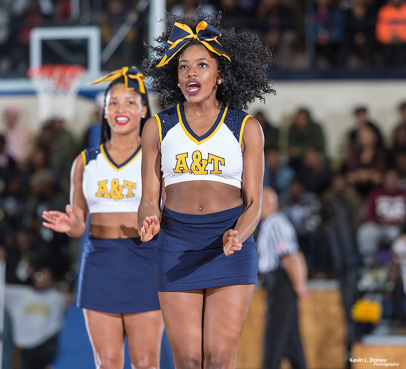 2016-17 A&T Men's Basketball vs NCCU \ www.ncataggies.com - Photo by: Kevin L. Dorsey