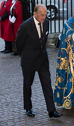 The Duke of Edinburgh at the service to celebrate the 60th Anniversary of the Queen's Coronation at Westminster Abbey in London, London, United Kingdom<br /> Tuesday, 4th June 2013<br /> Picture by i-Images i-Images / i-Images