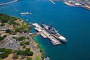 USS Missouri and USS Arizona, Pearl Harbor, Honolulu, Oahu, Hawaii