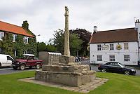 Market Cross on the village green, Cross Hill