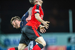 Falkirk&rsquo;s Lee Miller. <br /> Falkirk 3 v 2 Rangers, Scottish Championship game player at The Falkirk Stadium, 18/3/2016.