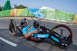 HINDRICQ Christophe, BEL, H2, Cycling, Time-Trial at Rio 2016 Paralympic Games, Brazil