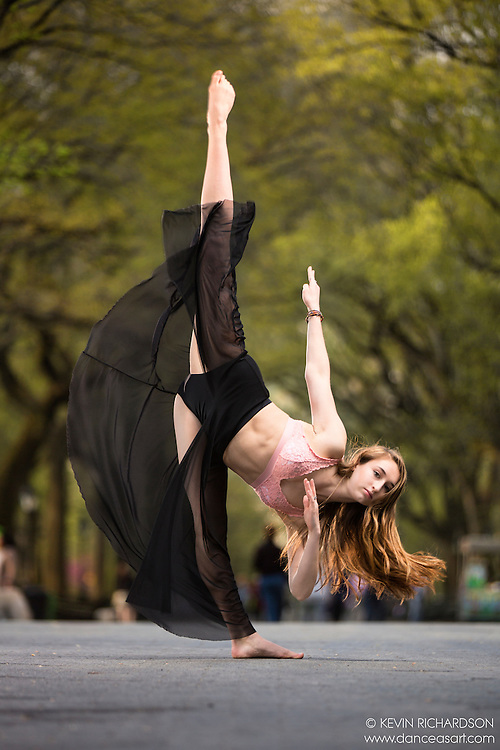 Dance As Art The New York City Photography Project Central Park Series with dancer Alyssa Vacca