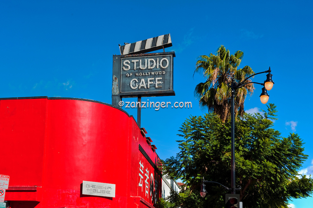 Hollywood, Boulevard, Geisha House, Restaurant, Studio Cafe,  Hollywood, Ca