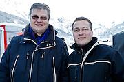 12.Jan.2012; Adelboden; Ski alpin - Riesenslalom Adelboden 2013; Alex Reichen links und Stefan Wyss vom Restaurant Kreuz in Konolfingen. (Christian Pfander/freshfocus)