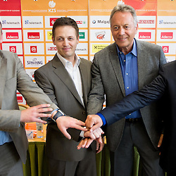 20120504: SLO, Basketball - Telemach Slovenian Champion League, Press conference