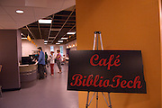 In new student Cafe in Library