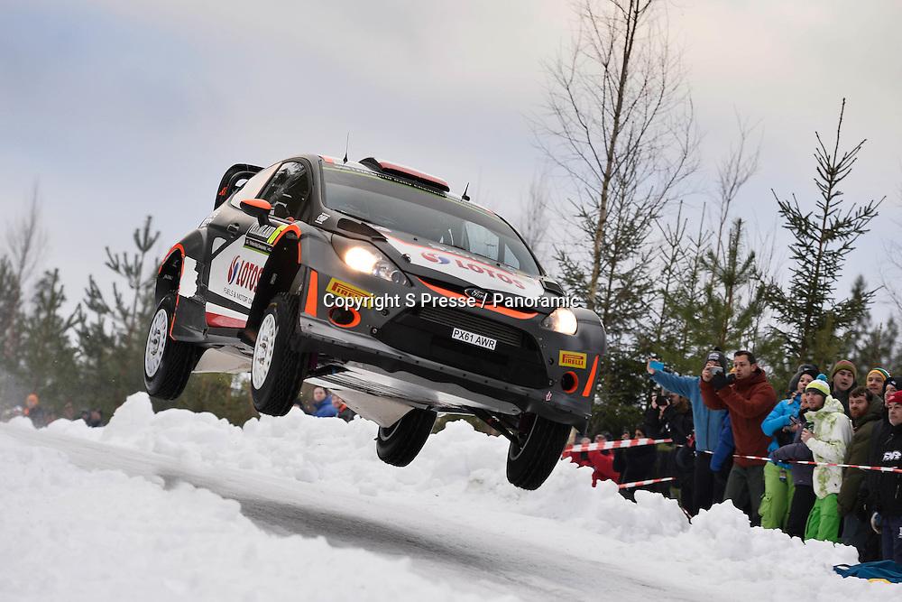 Robert Kubica (POL) - SZPA (POL)- Ford Fiesta WRC