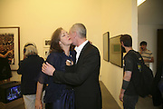Judith Greer and Cerith Wynne Evans, THANK YOU FOR THE MUSIC (LONDON BEAT) opening , SPR†TH MAGERS LEE and afterwards in the Grill Room of the Cafe Royal. 29 June 2006. ONE TIME USE ONLY - DO NOT ARCHIVE  © Copyright Photograph by Dafydd Jones 66 Stockwell Park Rd. London SW9 0DA Tel 020 7733 0108 www.dafjones.com