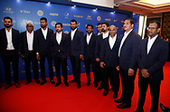 Team India Player during the BCCI annual awards evening held at the Ritz Carlton Hotel in Bangalore, Karnartaka on the 8th March 2017. <br /> <br /> Photo by: Deepak Malik / BCCI/ SPORTZPICS