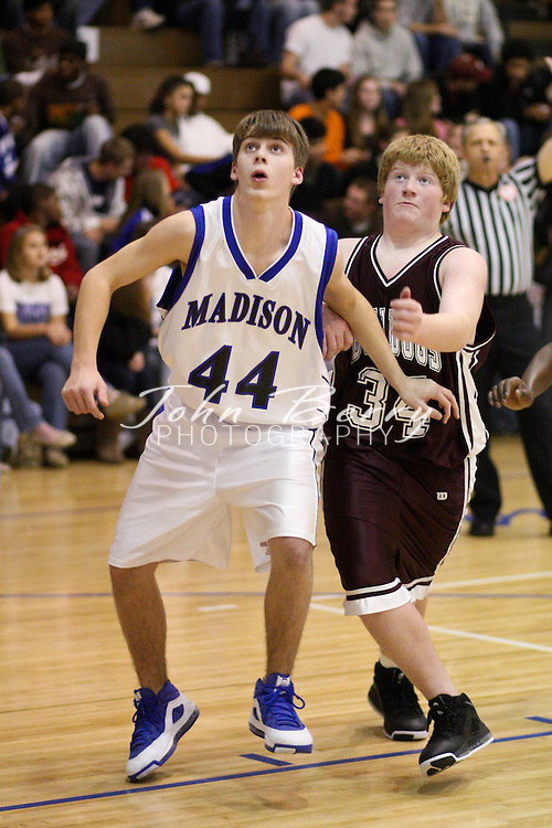 MCHS JV Boys Basketball .vs Luray .12/19/2008