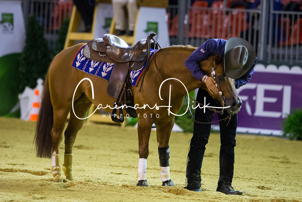 Josh Collins, (GBR), Spook A Little - Individual Final Comptetition - Alltech FEI World Equestrian Games™ 2014 - Normandy, France.<br /> © Hippo Foto Team - Leanjo De Koster<br /> 30-08-14