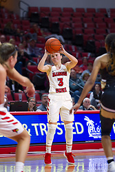 NORMAL, IL - October 30: Mary Crompton during a college women's basketball game between the ISU Redbirds and the Lions on October 30 2019 at Redbird Arena in Normal, IL. (Photo by Alan Look)