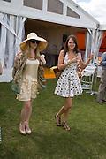 ALICE EVE; GEORGIE LANGTON; , 2008 Veuve Clicquot Gold Cup Polo final at Cowdray Park. Midhurst. 20 July 2008 *** Local Caption *** -DO NOT ARCHIVE-© Copyright Photograph by Dafydd Jones. 248 Clapham Rd. London SW9 0PZ. Tel 0207 820 0771. www.dafjones.com.