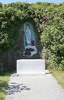 Religious grotto Inis Mor Aran Islands County Galway Ireland