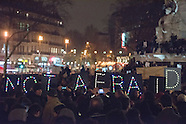 Je suis Charlie - Manifestation en soutien au journal Charlie Hebdo - Place de la République