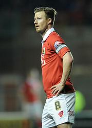 Bristol City's Wade Elliott - Photo mandatory by-line: Dougie Allward/JMP - Mobile: 07966 386802 - 10/02/2015 - SPORT - Football - Bristol - Ashton Gate - Bristol City v Port Vale - Sky Bet League One