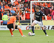 Dundee's Simon Ferry and Dundee United's John Rankin - Dundee United v Dundee at Tannadice Park in the SPFL Premiership<br /> <br />  - © David Young - www.davidyoungphoto.co.uk - email: davidyoungphoto@gmail.com