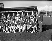 17/03/1961<br /> 03/17/1961<br /> 17 March 1961<br /> Railway Cup Final: Munster v Leinster at Croke Park, Dublin.<br /> Munster team.
