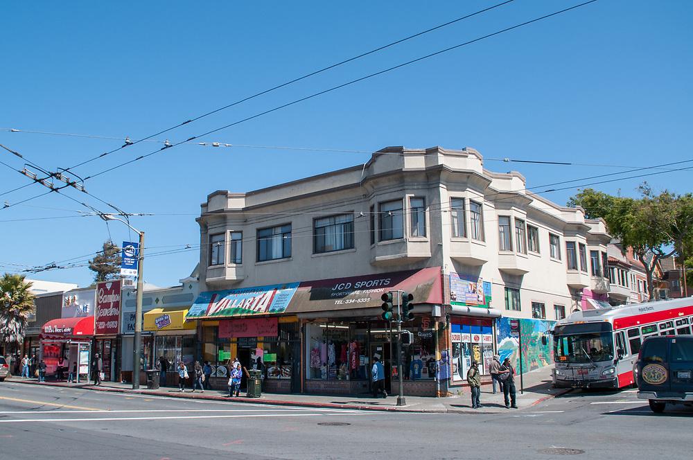Neighborhood Street Scenes in Excelsior District | April 10, 2015