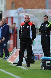 Crawley Town manager Dermot Drummy looks on  - Mandatory by-line: Nizaam Jones/JMP - 15/10/2016 - FOOTBALL - The LCI Rail Stadium - Cheltenham, England - Cheltenham Town v Crawley Town - Sky Bet League Two