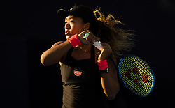 October 2, 2018 - Naomi Osaka of Japan in action during her second-round match at the 2018 China Open WTA Premier Mandatory tennis tournament (Credit Image: © AFP7 via ZUMA Wire)