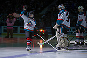 KELOWNA, CANADA - JANUARY 20:  Pepsi Player of the Game at the Kelowna Rockets game on January 20, 2018 at Prospera Place in Kelowna, British Columbia, Canada.  (Photo By Cindy Rogers/Nyasa Photography,  *** Local Caption ***