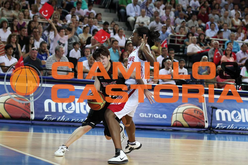 DESCRIZIONE : Ankara Turkey FIBA Olympic Qualifying Tournament for Women 2012 Turkey Japan Turchia Giappone<br /> GIOCATORE : Yuka MAMIYA <br /> SQUADRA : Turkey Japan Turchia Giappone<br /> EVENTO :  FIBA Olympic Qualifying Tournament for Women 2012<br /> GARA : Turkey Japan Turchia Giappone<br /> DATA : 26/06/2012<br /> CATEGORIA : <br /> SPORT : Pallacanestro <br /> AUTORE : Agenzia Ciamillo-Castoria/ElioCastoria<br /> Galleria : FIBA Olympic Qualifying Tournament for Women 2012<br /> Fotonotizia : Ankara Turkey FIBA Olympic Qualifying Tournament for Women 2012 Turkey Japan Turchia Giappone<br /> Predefinita :