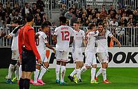 Fotball<br /> 17.09.2015<br /> Foto: Panoramic/Digitalsport<br /> NORWAY ONLY<br /> <br /> Goal et joie Adam Lallana lfc<br /> Bordeaux vs Liverpool - Europa League Match - Bordeaux