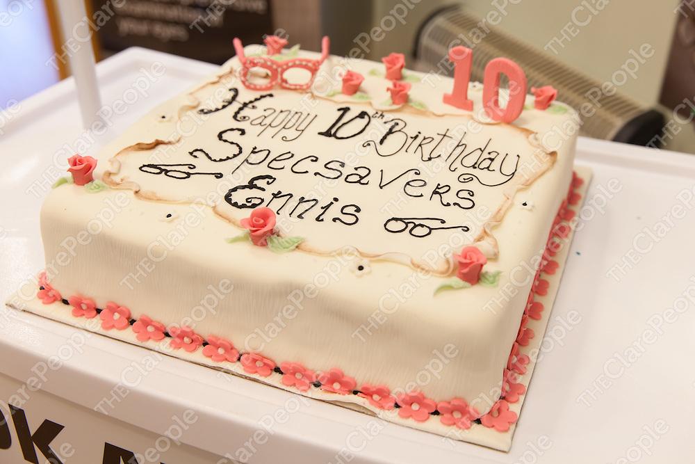 Specsavers Ennis 10th Birthday Celebrations On Saturday 24 January