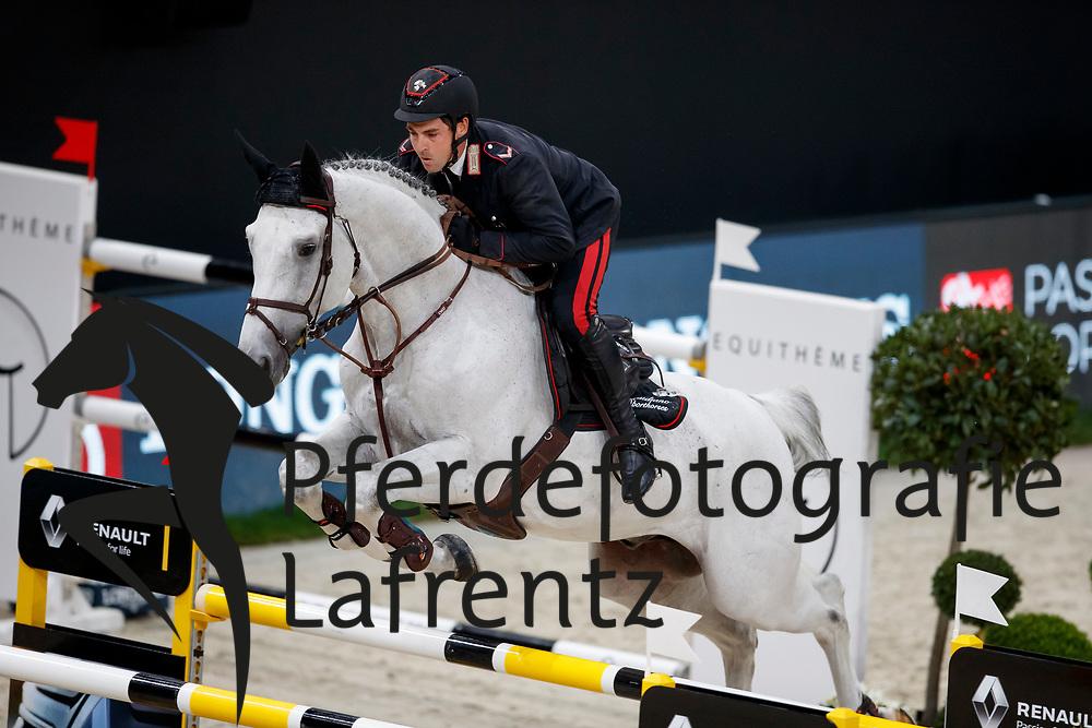 GAUDIANO Emanuele (ITA), Caspar 232<br /> Paris - FEI World Cup Finals 2018<br /> Grand Prix / Grosser Preis<br /> www.sportfotos-lafrentz.de/Stefan Lafrentz<br /> 15. April 2018