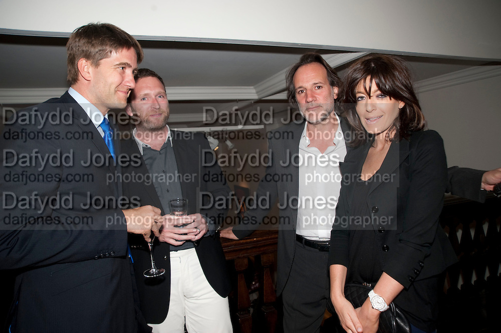 Kris Thykier; PAUL GREEN; CLAUDIA WINKLEMAN, Opening of 'The Promised Land' Exhibition of work by Mitch Griffiths. Halcyon Gallery. Bruton St. London. 28 April 2010 *** Local Caption *** -DO NOT ARCHIVE-© Copyright Photograph by Dafydd Jones. 248 Clapham Rd. London SW9 0PZ. Tel 0207 820 0771. www.dafjones.com.<br /> Kris Thykier; PAUL GREEN; CLAUDIA WINKLEMAN, Opening of 'The Promised Land' Exhibition of work by Mitch Griffiths. Halcyon Gallery. Bruton St. London. 28 April 2010