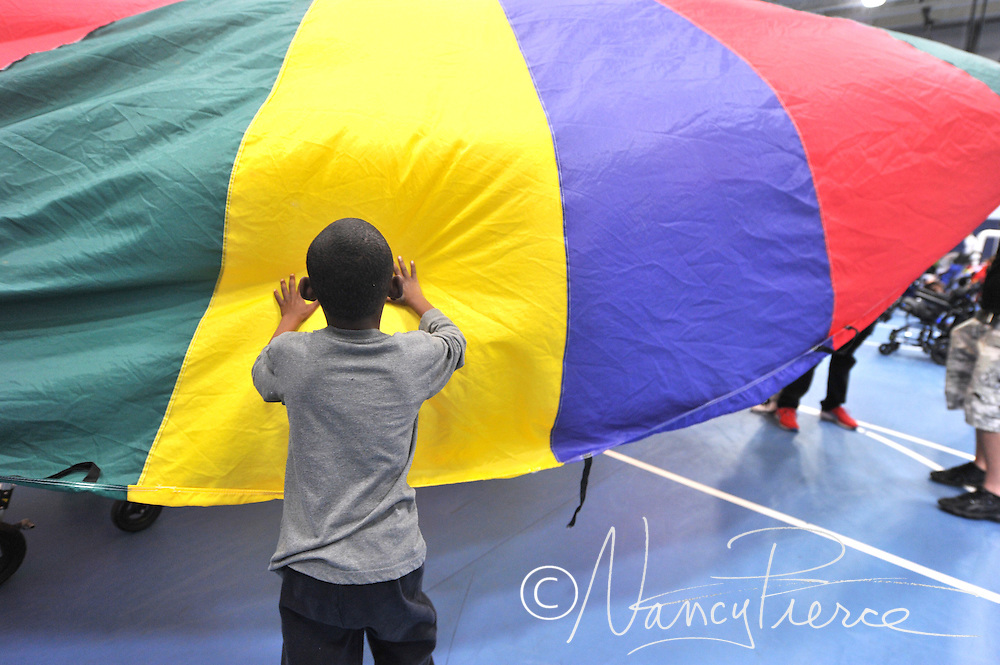 Various activities from the Metro School Fun Day (carnival)