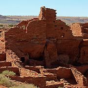 Wupatki Pueblo at Wupatki National Monument - AZ