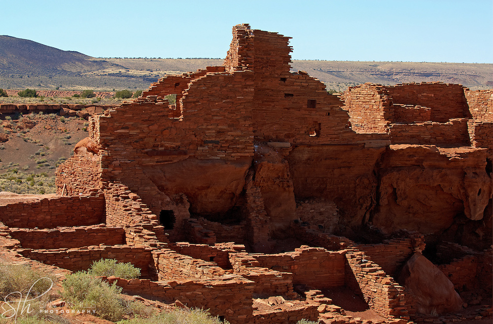 Wupatki Pueblo at Wupatki National Monument - AZ