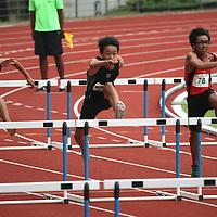 C Division Boys 100m Hurdles