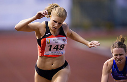 Maja Mihalinec of Slovenia competes at 200m Women during 20th European Athletics Classic Meeting in Honour of Miners' Day in Velenje on July 1, 2015 in Stadium Velenje, Slovenia. Photo by Vid Ponikvar / Sportida