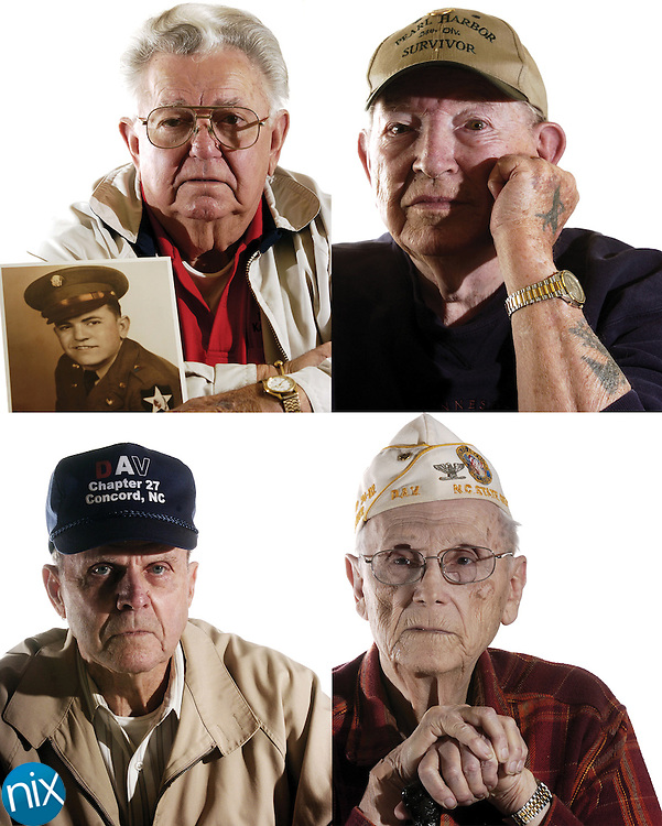 "Clockwise from top: Billy Ray Linker, H.B ""Dink"" Stirewalt,  Marvin Dayvault and Lonnie Hunsucker."