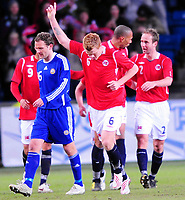 Fotball Privat Landskamp 01.04.2009<br />