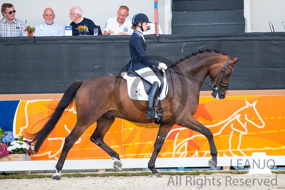 Ingrid Malan - Haeden<br /> KWPN Kampioenschappen 2017<br /> © DigiShots