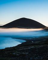 Sunrise at Vatnaleið, Snæfellsnes Peninsula, West Iceland.