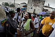 MARY BROH, mayor of monrovia  6 july, 2010.