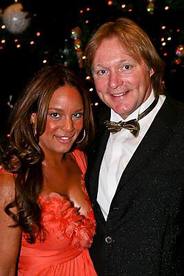 NLD/Amsterdam/20081211 - Miljonairfair 2008, Erwin Ketmann en partner Sheila Bergeijk
