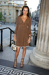 CHARLOTTE STOCKDALE at an art talk and dinner hosted by Louis Vuitton at The National Gallery, Trafalger Square, London on 25th May 2006.