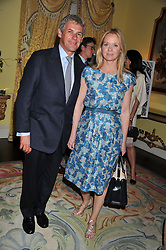 KATE REARDON and CHARLIE GORDON-WATSON at Ambassador Earle Mack's 60's reunion party held at The Ritz Hotel, London on 18th June 2012.