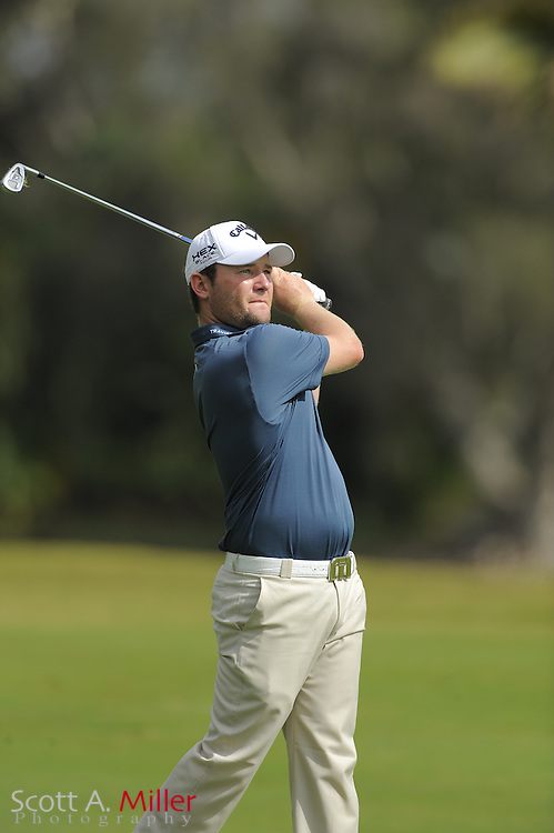 Branden Grace during the second round of the World Golf Championship Cadillac Championship on the TPC Blue Monster Course at Doral Golf Resort And Spa on March 9, 2012 in Doral, Fla. ..©2012 Scott A. Miller.
